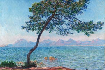 Claude Monet - Mountains at l'Esterel