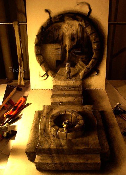 Ilusões chilenas - A arte em 3D de Fredo