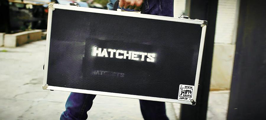 SOUL ART Vídeos apresenta um ensaio com a banda Hatchets!
