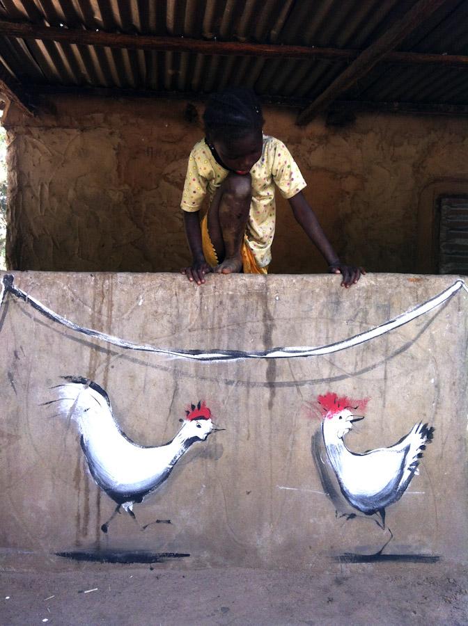 Run @ Makumbayah Village, Gambia
