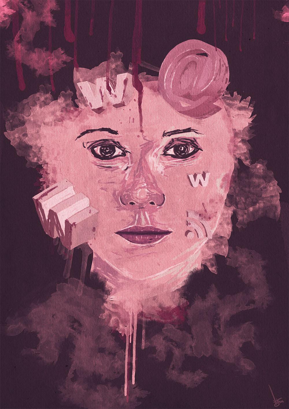 A gente pode um dia explodir (Ilustração Tom Carvalho - www.soulart.org)