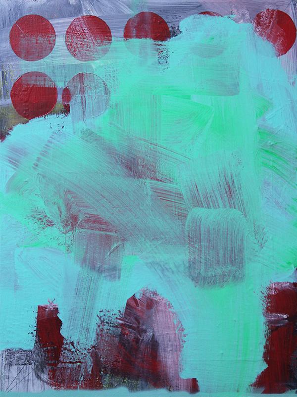 Memorandomemorável por Guilherme Callegari (2013, Acrílica, óleo, carvão, spray e nanquim sobre tela – 80 x 60 cm)