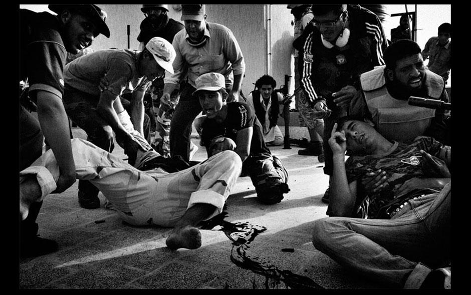 Clique do fotógrafo brasileiro Mauricio Lima na Líbia