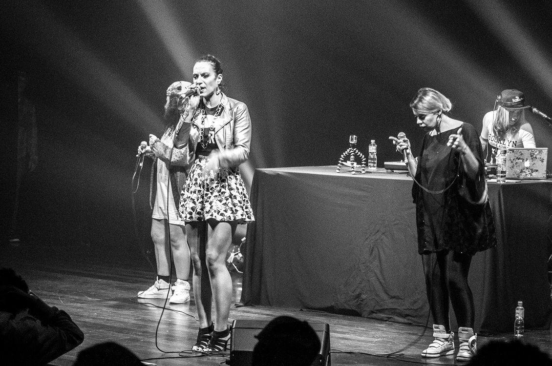 O Rap Delas apresenta: Mc Gra, Lívia Cruz, Karol de Souza, Lurdes de Luz e Dj Typá