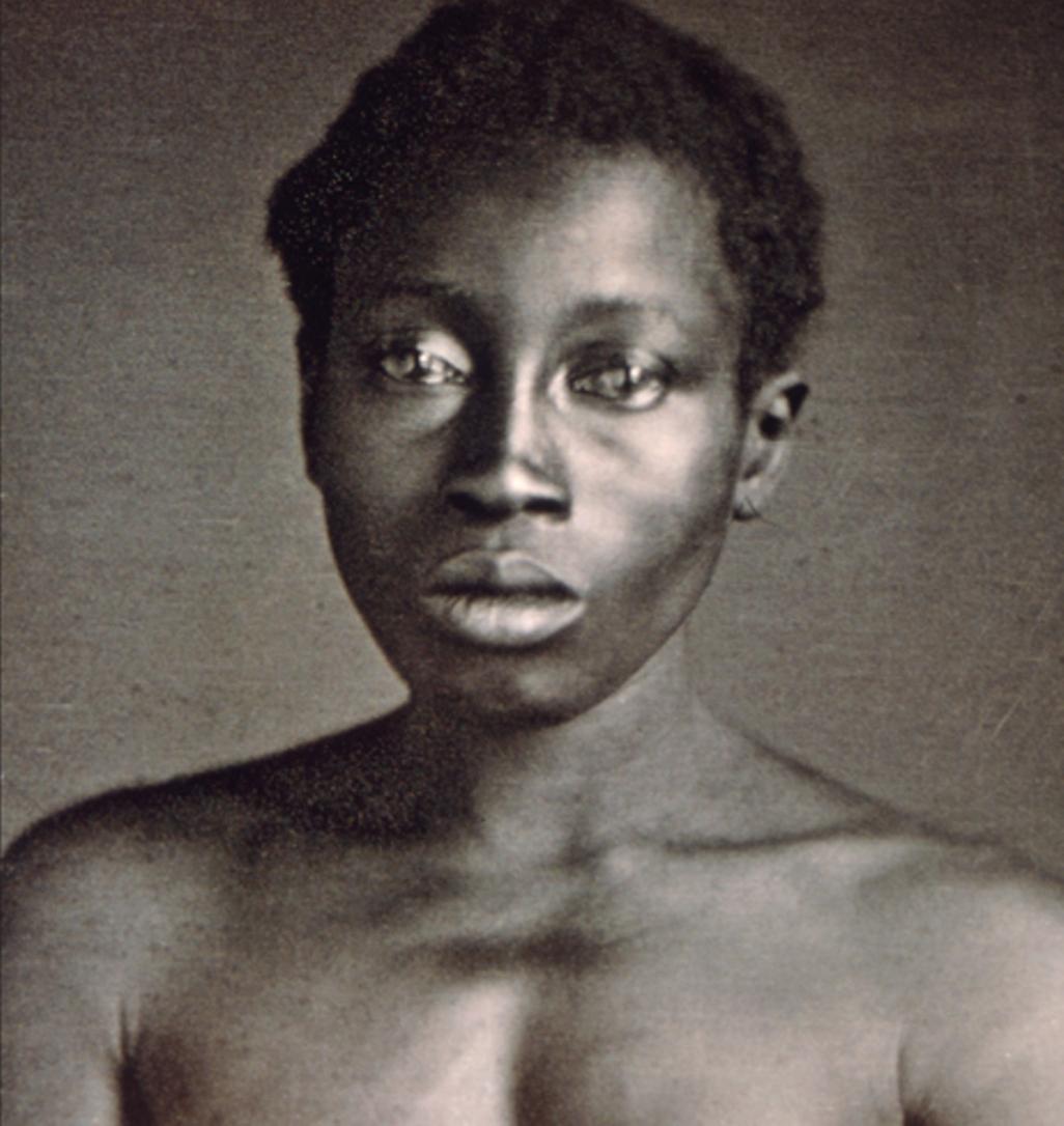 Fotografia de um escravo norte-americano a pedido de Louis Agassiz