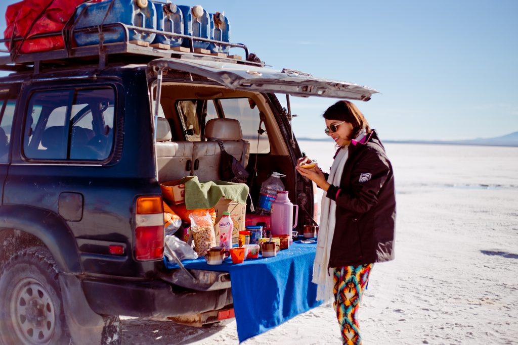 Farofa em Salar de Uyuni/Bolivia - Tainá Fotografando