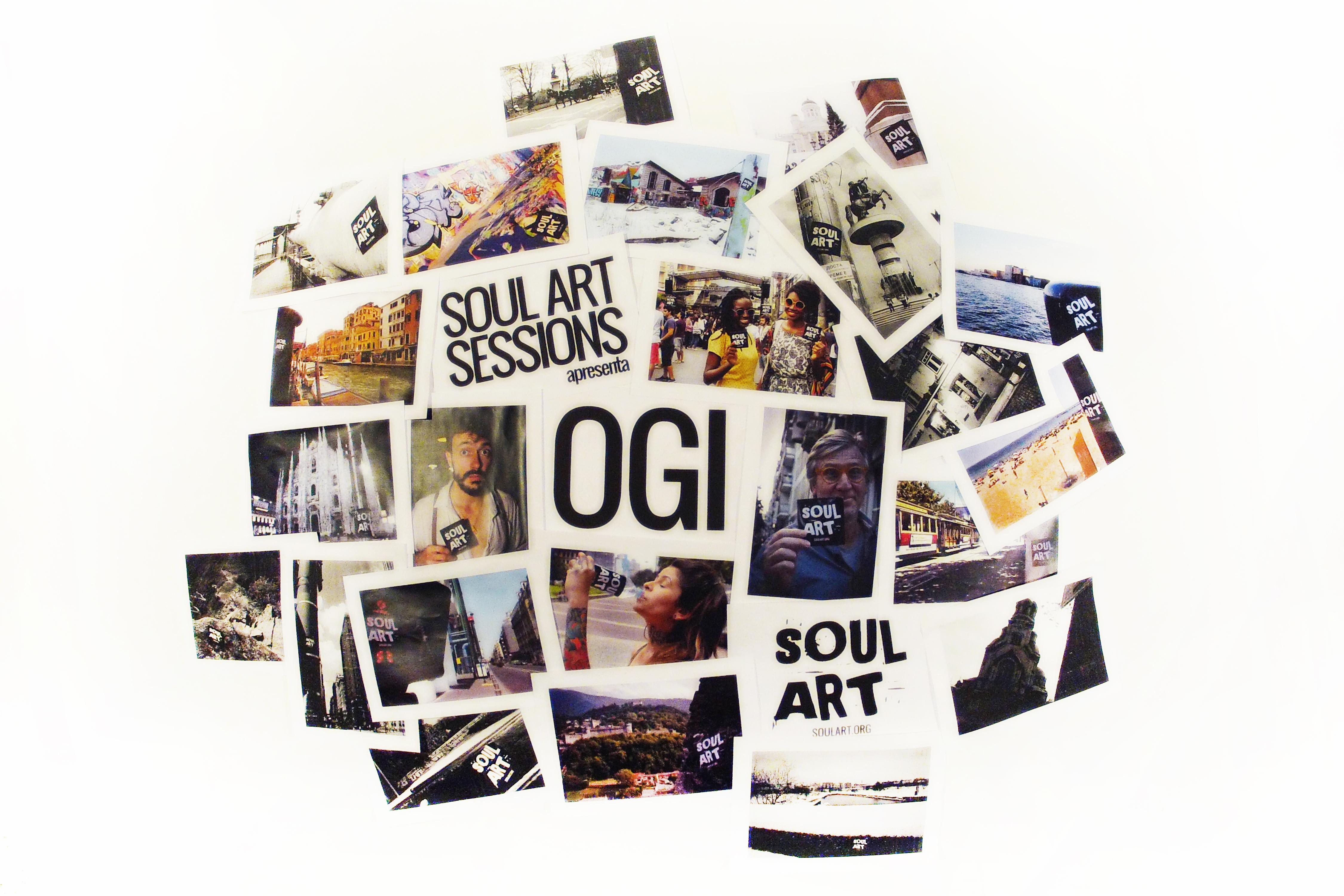 SOUL ART SESSIONS - Ogi canta - Minha Sorte Mudou