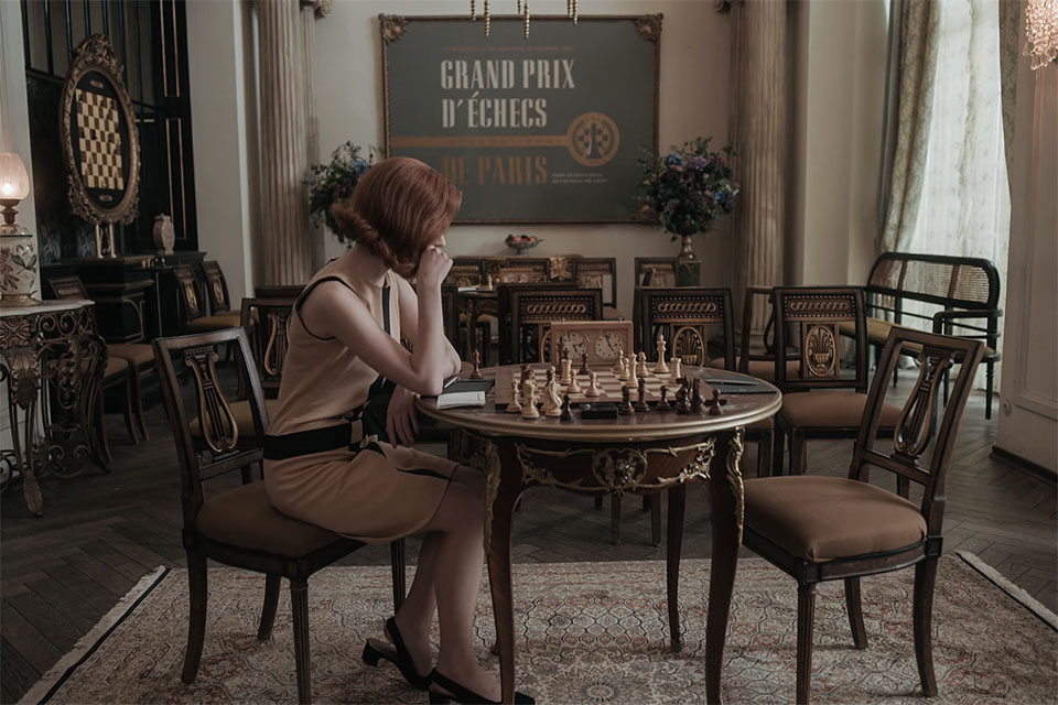 O Gambito da rainha ou O tabuleiro da dama