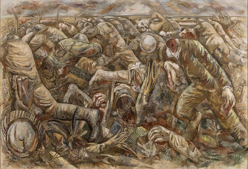 A denuncia da guerra, de Lasar Segall