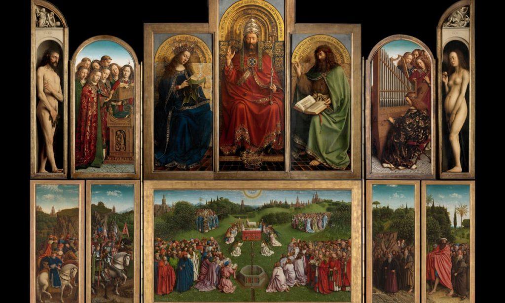 Retábulo de Gante, de Hubert van Eyck e Jan van Eyck