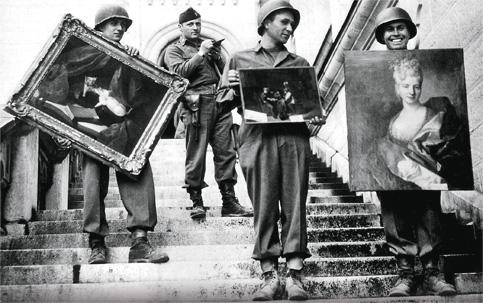 arte na Segunda Guerra Mundial