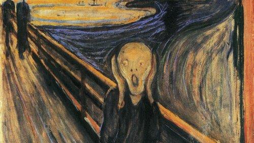 O Grito, de Edvard Munch - Expressionismo