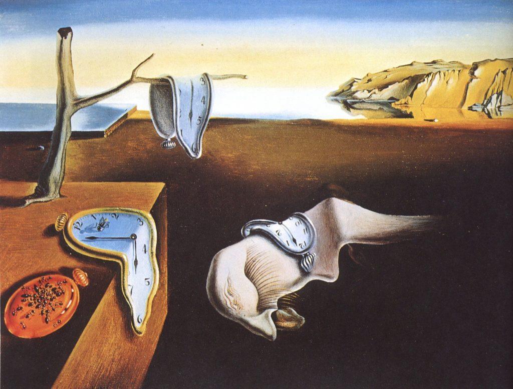 A Persistência da Memória, Salvador Dalí - Surrealismo