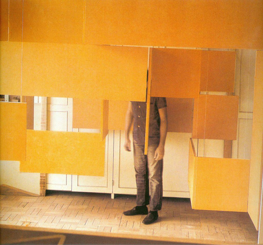 Grande Núcleo (1966) - Hélio Oiticica