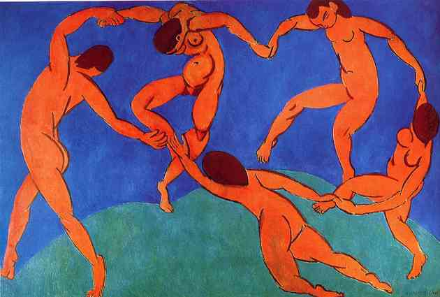 A dança (1909), de Henri Matisse