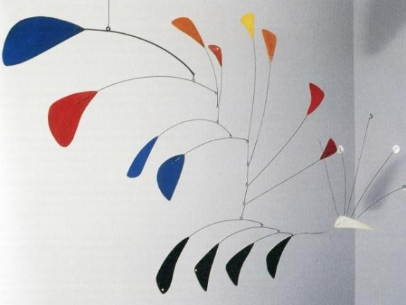 Móbile Pavão (1941), do americano Alexander Calder