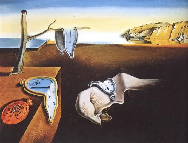 Persistência da Memória (1931), de Salvador Dalí