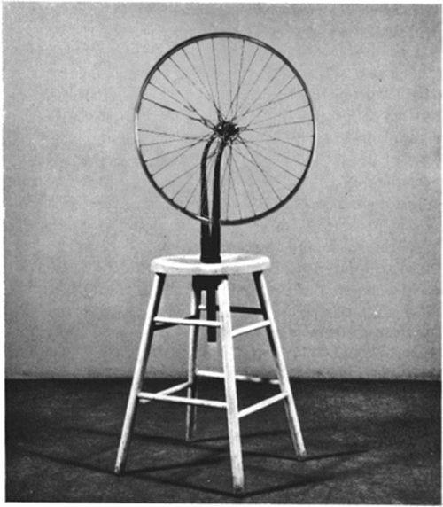 Roda de Bicicleta, Marcel Duchamp - 1913